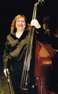 Gail Sattler with accoustic bass